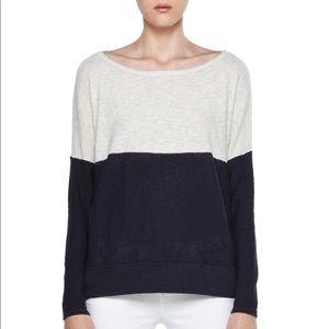 Vince Color Block Knit Sweater